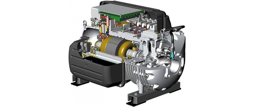 Centrifugal Compressors with Magnetic Levitation
