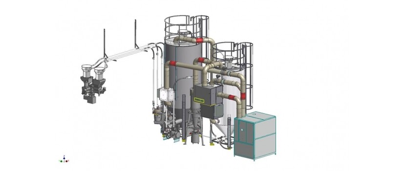 Integrated Crystallizing and Drying Systems