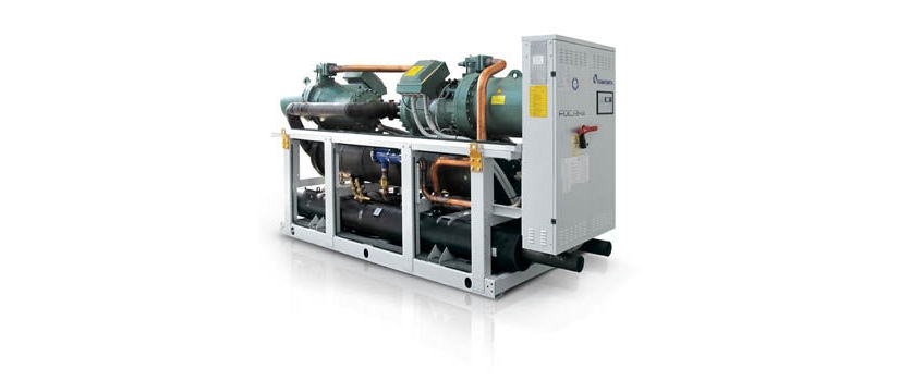 Water Cooled Chillers with Screw Compressors